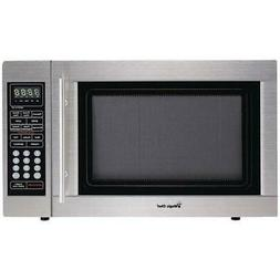 Magic Chef MCD1310ST Countertop Microwave Stainless Steel, M