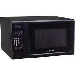 Magic Chef MCM1110B Black Countertop Microwave 1.1 Cu ft 100
