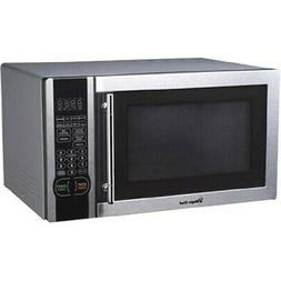 Magic Chef MCM1110ST 1.1 cu ft Countertop Microwave Oven - S