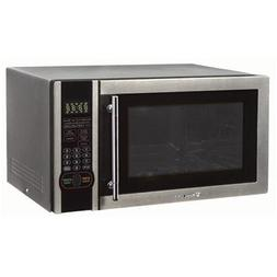 Magic Chef 1.1 Cu. Ft. Digital Microwave, Stainless Steel, M