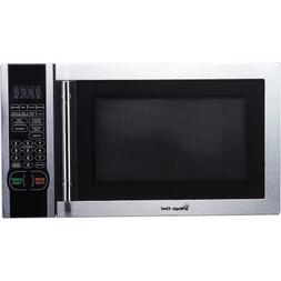Magic Chef 1.1 cu. ft. Digital Microwave, Stainless Steel, 1