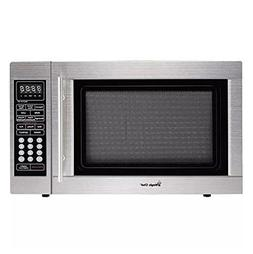 Magic Chef 1.3-Cubic Foot Digital Microwave, Stainless
