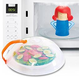 Eutuxia Microwave Cleaner + Cover Bundle. Perfect for Coveri