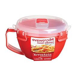 Sistema Microwave Collection Noodle Bowl 31.7 oz./0.9 L Red