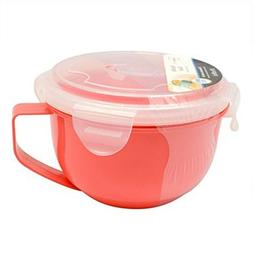 Microwave Cookware Soup/Noodle Bowl Food Storage BPA FREE 30