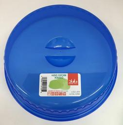"""Microwave Food Dish Cover Assorted Colors 10"""" x 2.5"""""""