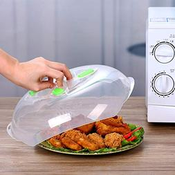 Microwave Hover Anti-Sputtering Cover, New Food Splatter Gua