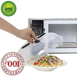 AHMILY Microwave Hover Splatter Cover Guard, Magnetic Microw