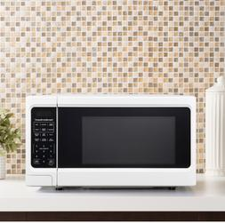 Microwave Oven 1.1 .Ft Digital Countertop Kitchen 1000W whit