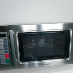Daewoo Microwave Oven 1 Cu Ft 1500W Commercial ALL STAINLESS