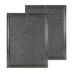 2-PACK Air Filter Factory 5-7/8 X 7-7/8 X 3/32  Microwave Ov