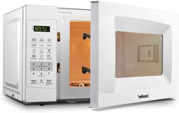 Microwave Oven Compact Size Sound On/Off ECO Mode 0.7cu.ft,