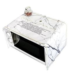 Microwave Oven Cover Cloth Dust Cover Kitchen Oven Hood Cove