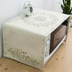 Microwave Oven Cover Dust Cover Cloth Microwave Cover Cloth