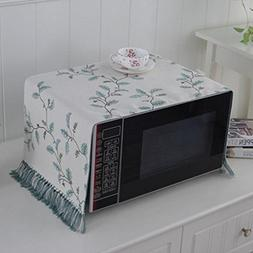 Microwave Oven Cover Dust Cover Towel Cloth Sets Cotton And