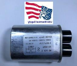 Microwave Oven H.V. High Voltage Capacitor Model: CH85-21080