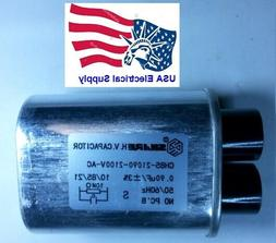 Microwave Oven H.V. High Voltage Capacitor Model: CH85-21090
