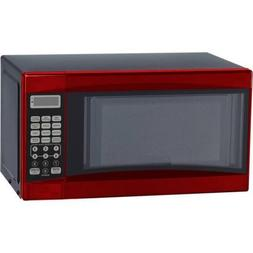 Microwave oven 0.7 CU FT 700W red Mainstays MED2703 Express