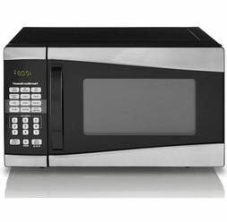 Hamilton Beach Microwave Oven, Stainless Steel Silver Compac