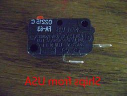 OEM Microwave Oven SZM-V16-FA63 Door Micro Switch Normally O