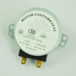 TOOGOO Microwave Oven Turntable Synchronous Motor 4W AC 220-