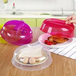 Microwave Plate Cover Steam Vent Lid Dish Food Splatter for