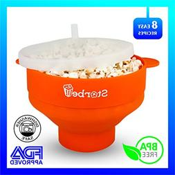 Microwave Popcorn Popper - Safe and Noiseless - Easy To Use
