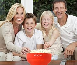Microwave Popcorn Popper | Large Collapsible Silicon Popcorn