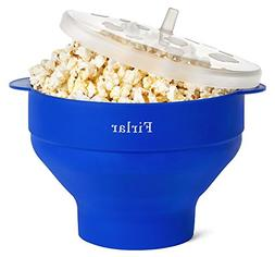 Microwave Popcorn Popper, Silicone Popcorn Maker Collapsible
