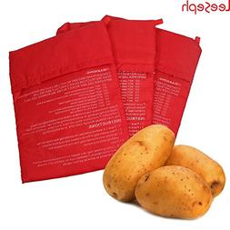 STAR-FIVE-STORE - Microwave Potato Bag, Red 10 inch
