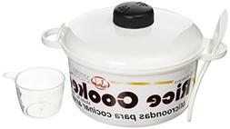 Uniware Microwave Rice Cooker with Cup, 10 Cups, 2.5 Qt