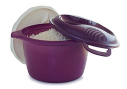 Tupperware Microwave Rice Cooker Purple Large 3L  or 12 cup