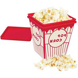 Microwave Silicone Popcorn Maker - Takes 3 Mins - Holds 1.5
