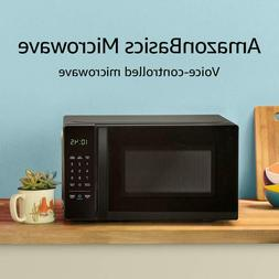 Amazon Basics Microwave, Small, 0.7 Cu. Ft, 700W, Works with