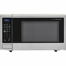 1100W Countertop Microwave Oven Stainless Steel Sensor Cook