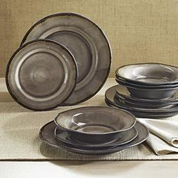 Better Homes and Gardens Modern Stoneware Construction 12-Pi