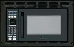 Advent MW912BK Black Built-in Microwave Oven with Trim Kit s