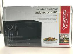 NEW Sunbeam 0.9 cu.ft. Microwave Oven 900 Watts SGB8901 Blac