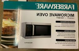 NEW!! Farberware 1,100W 1.6 Cubic Inch Microwave Oven