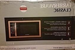 New Farberware Classic 1.1 Cubic Foot 1000 Watt Microwave Ov
