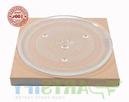 NEW GLASS MICROWAVE TURNTABLE PLATE TRAY EXACT FIT GE