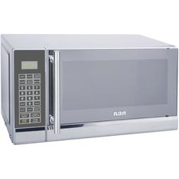 NEW RCA Microwave Oven 0.7 Cu Ft 700 Watts Stainless Design