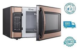 New Premium Brown Hamilton Beach 1.1 Cu Ft Microwave Oven Co