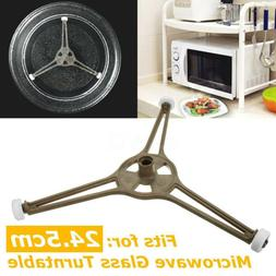 New Triple Arm Microwave Glass Turntable Plate Holder Ring R