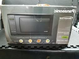 Panasonic NN-SN736B Black 1.6 Cu. Ft. Countertop Microwave O