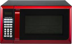 NO TAX! Hamilton Beach Stainless Steel 0.9 Cu. Ft. Red Micro