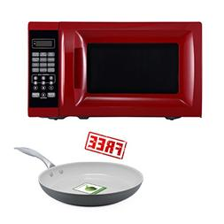 700W Kitchen timer/clock Output Microwave Oven 0.7 cu ft, Re