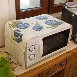 Oven Hood Microwave Oven Cover Rectangle Multi-Purpose Towel
