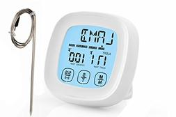 Best Digital Oven Meat Thermometer | Stainless Steel Probe -