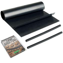 IDEALI Oven Protector Set: 2 Non-Stick Oven Liners + FREE 2